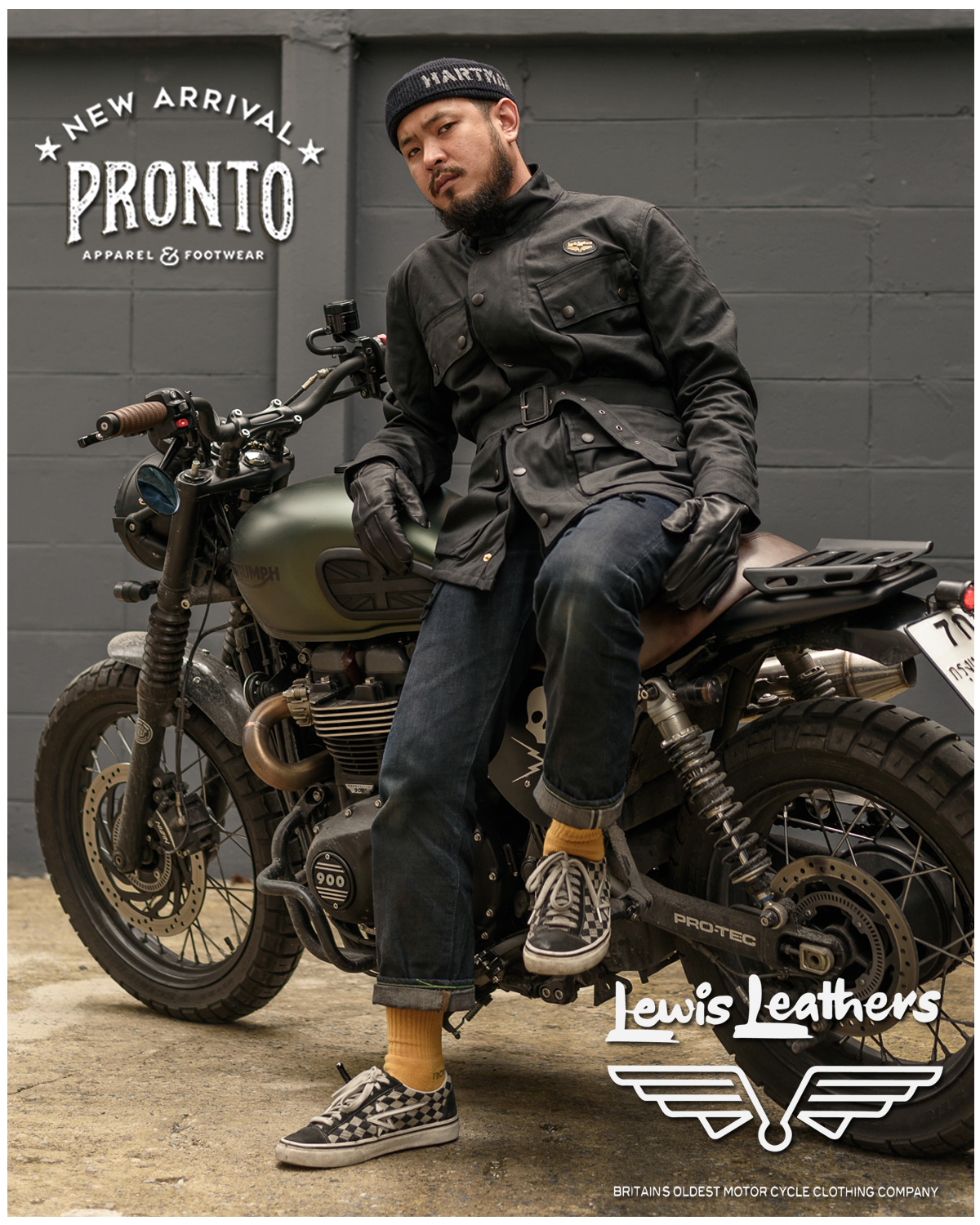 NEW ARRIVAL : LEWIS LEATHER