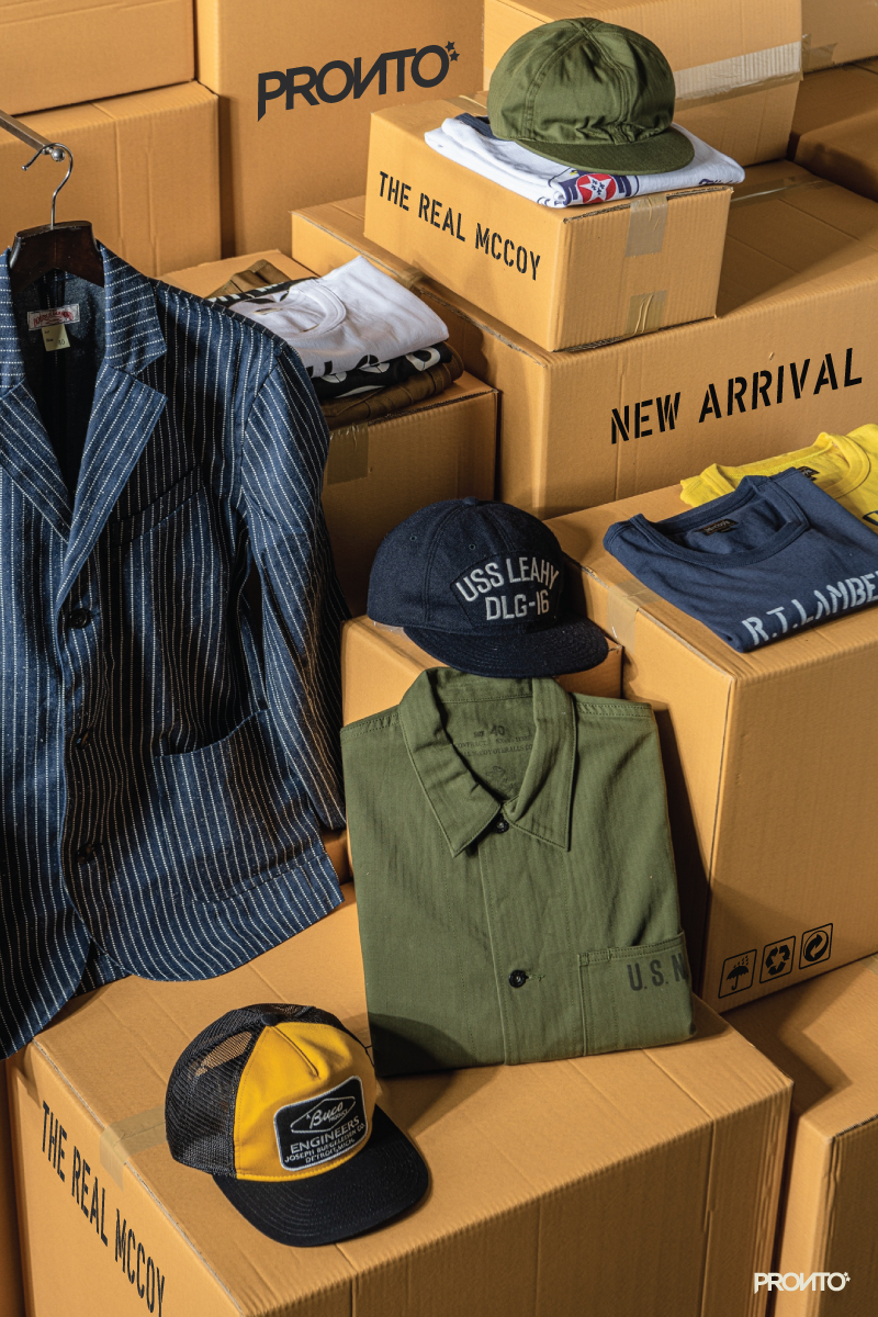 NEW ARRIVAL :  THE REAL McCOY'S