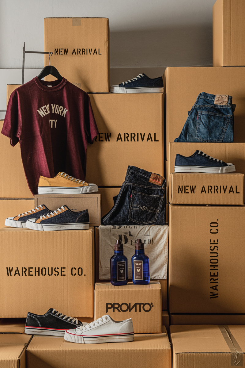 NEW ARRIVAL : WAREHOUSE