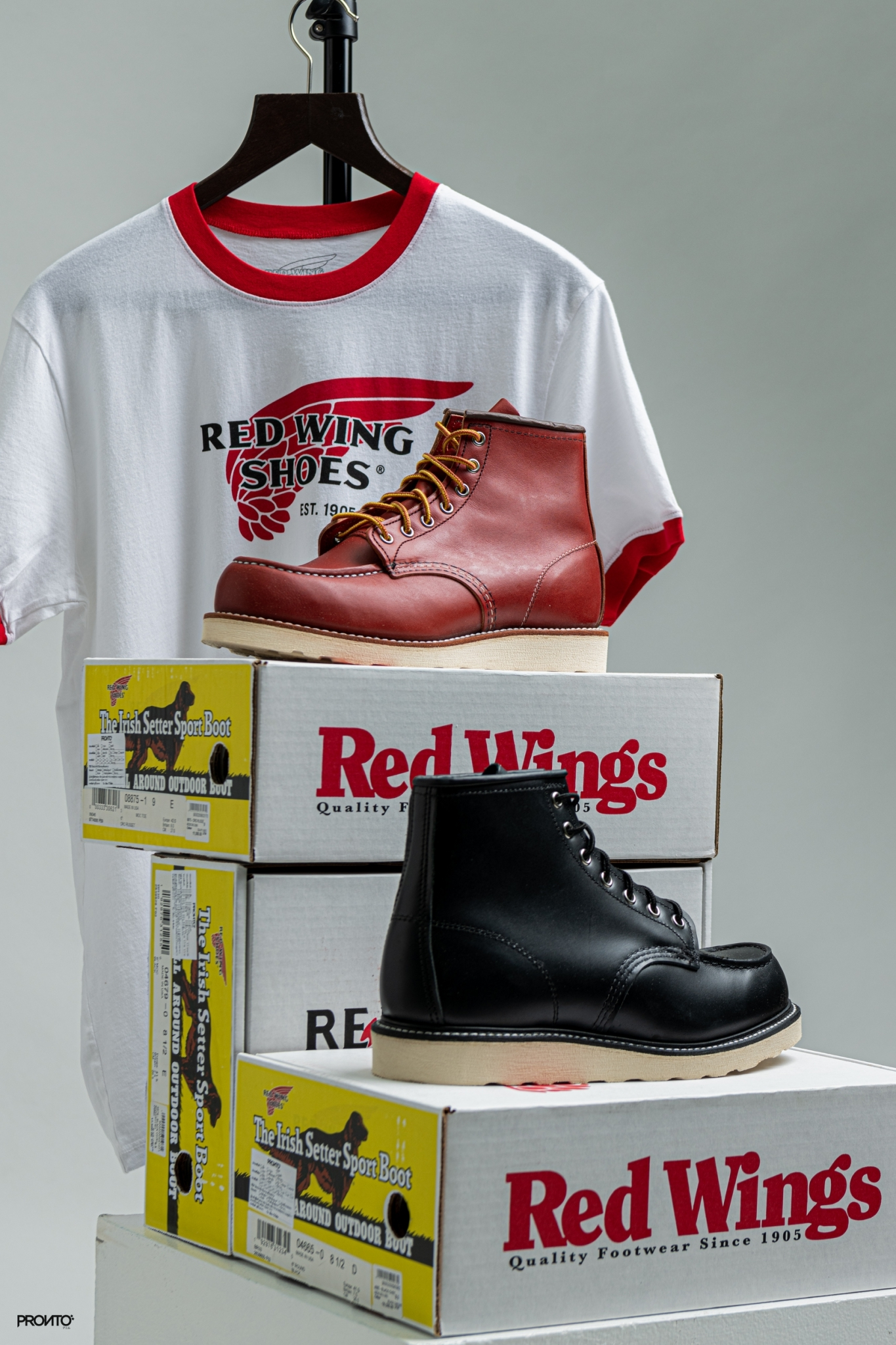 NEW ARRIVAL : RED WING