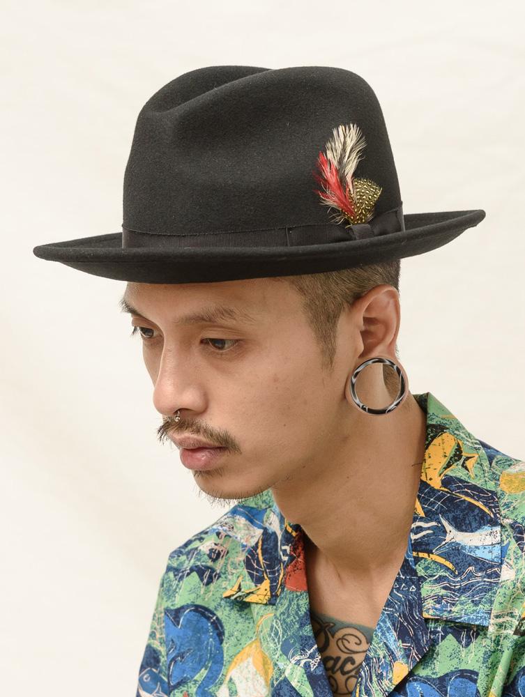 pronto denim new york hat